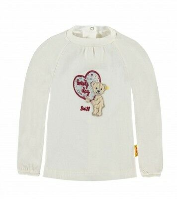 Steiff 6642201 T-Shirt Shirt Sweatshirt  Lovely Day  Bär Teddy /  1610 Creme