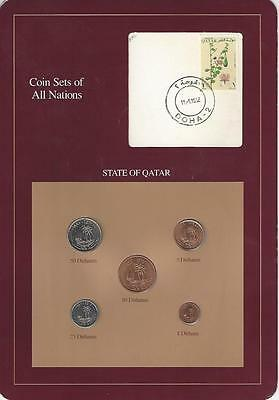 Coin Sets of All Nations - Qatar