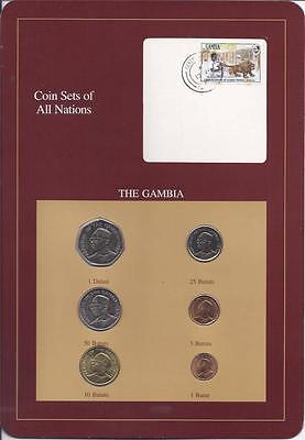 Coin Sets of All Nations - The Gambia
