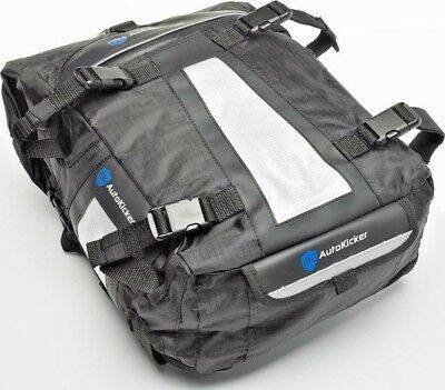 Autokicker Loader 30L Tail Roll & Saddle Bag System For Motorcycle & Motorbikes