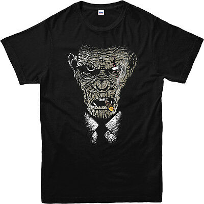 Rise of the Planet of Apes T-Shirt, KOBA CIGAR Face T-Shirt Inspired Design Top