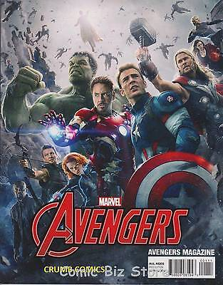 Avengers  Magazine #1 (20015) Photo Movie Cover Superb Magazine!