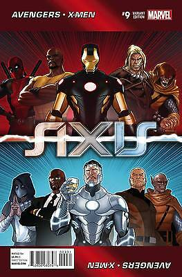 Avengers And X-Men: Axis #9 (Of 9) (2015) Scarce 1:50 Renauld Looper Variant