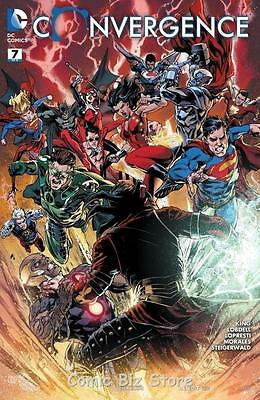 Convergence #7 (2015) 1St Printing Bagged & Boarded Dc Comics