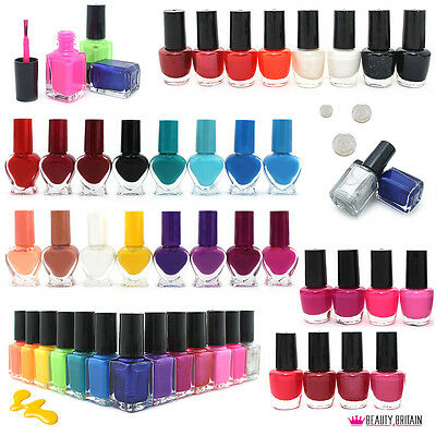 120 x NAIL VARNISH POLISH ASSORTED COLOURS WHOLESALE JOB LOT SET FROM UK