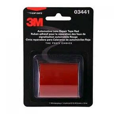 """3M Red Lens Taillight Repair Tape 1.9"""" x 60"""" Tape Roll 3441 NEW"""