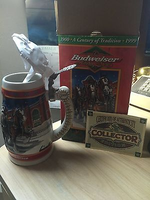 "Holiday Stein."" A century of tradition"" 20th Anniversary"