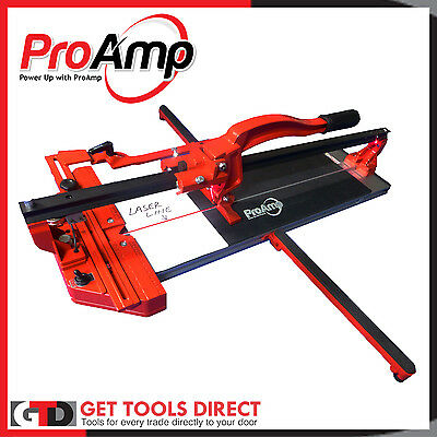Proamp  Professional Tile Cutter With Laser Guide Trade Tough NL210-600MM