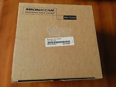 Microscan Ms-7000 Fis-7000-0107 Barcode Reader, New In Box, Warranty