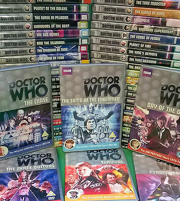 Dr Doctor Who on DVD. Choose yours!  Listing 1 of 2.