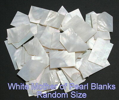 """Inlay material white mother of pearl shell blanks grade A thickness 0.050"""""""