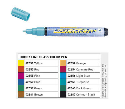 Glasmalstift, Glasmaler, Glasmalstifte, Glasmalfarbe, Glasstift, Glass Pen