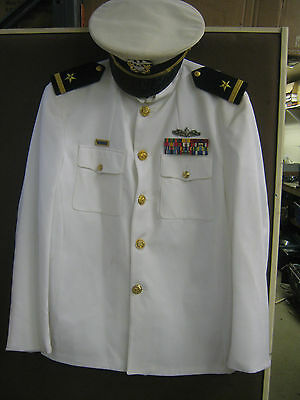 WW2 Style Naval Offices Uniform, Large (Great for Dances)