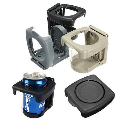 Car Vehicle Auto Van Folding Beverage Drink Bottle Can Cup Holder Stand Mount