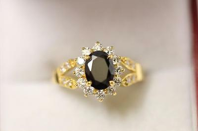 22ct/916 sparkling attractive indian gold ring size  L 1/2  *Boxed*