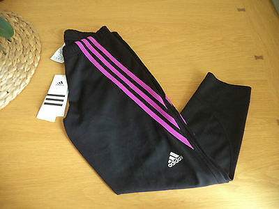 Adidas Womens 3/4 Running Gym Tights Size XS BNWT FREEPOST