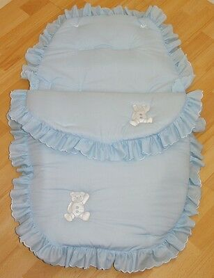 Blue 3 in 1 Cosy Toes Footmuff
