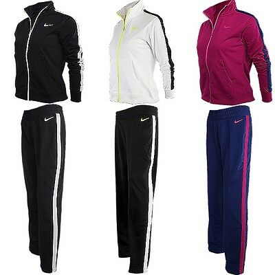 Nike Polyknit Lady Damen Trainingsanzug Sportanzug Jogginganzug NEU