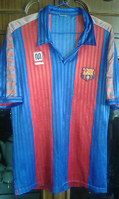 FC BARCELONA MEYBA 1992 8/10 XL Camiseta futbol football shirt