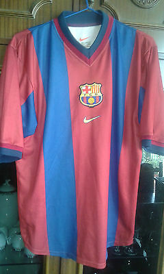 FC Barcelona Camiseta futbol football shirt M