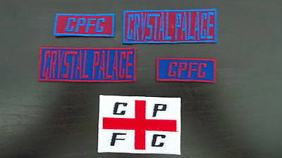 Crystal Palace Supporters Embroidered Iron On/Sew On Patch Choice of Designs