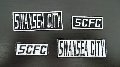 Swansea City Supporters Embroidered Iron On/Sew On Patch Choice of Designs