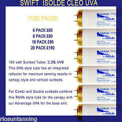 Sunbed Tubes Philps Swift Tubes Upgrade For Your Sunbed High Power Long Life