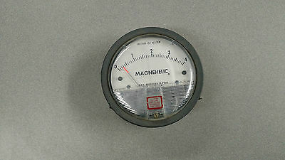 Dwyer inc. Magnehelic Gauge Cage Max. 15PSIG USED