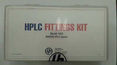 Upchurch Scientific HPLC Fittings Kit for use with Waters Model: 1413 NIB