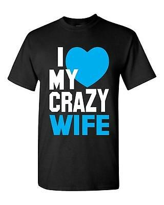 a7691ddc COUPLE TEE - I'm Crazy for my boyfriend Girlfriend Shirts - His and ...