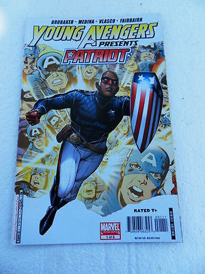 Young Avengers Presents 1 of 6 . Patriot - Marvel 2008 -  VF