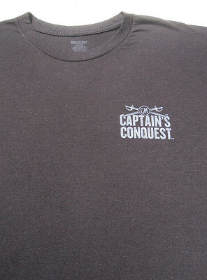 CAPTAIN MORGAN conquest LARGE T-SHIRT spiced rum