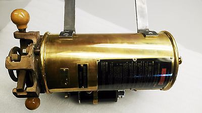 Vintage Oxygen Generator Submarine from The Canadian Navy MK1 Bronze & Brass NEW