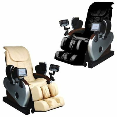 Maxim Reclining Massage Electric Leather Chair Multifunctional Full Body Relax
