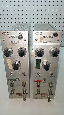 LOT OF (2) Canberra Sturrub Timing SCA 1435 USED