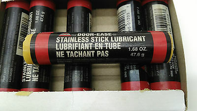 Door Ease Stainless Stick Lubricant Box of 36 Sticks Each 1.68 OZ. NEW OLD STOCK