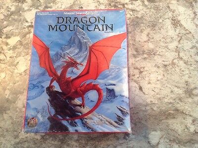 Dragon Mountain Adventure 2nd Edition AD&D Boxed Set #1089 TSR