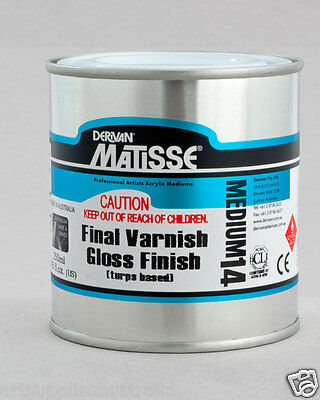 Matisse Hi Gloss Turps Varnish MM14 - 250ml, On Special