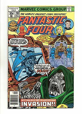 Fantastic Four Vol 1 No 198 Sep 1978 (VFN+) Marvel, Bronze Age (1970 - 1979)