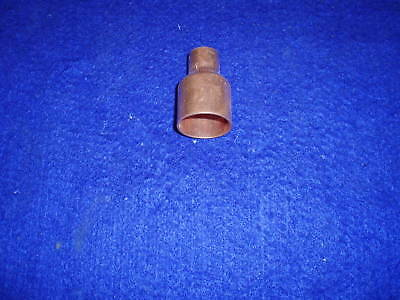 """1"""" x 1/2"""" COPPER REDUCER COUPLING,COPPER BELL REDUCER(FITS1-1/8""""OD x 5/8""""OD PIPE"""