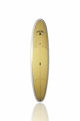 """SUNNY KING BAMBOO 9'6"""" Handmade Stand Up Paddle Board SUP"""