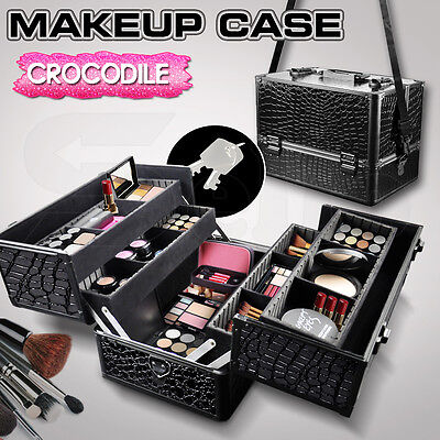 Professional Portable Cosmetics Beauty Case Makeup Case Box Carry Bag Organiser