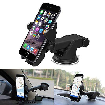 Universal 360° Dashboard Windshield Car Mount Holder Suction For Smart Phone