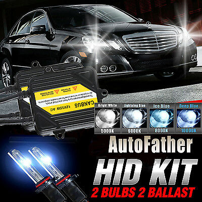 FITS MERCEDES DIPPED HEADLIGHT H7 CANBUS PRO HID KIT 8000K BLUE 55W SJHK5268