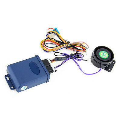 2 Way Motorcycle Anti-theft Security Alarm System +2 LCD Remote Control Start
