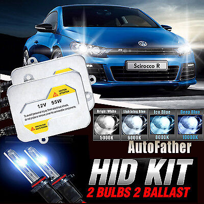 55W H7 6000k Xenon HID Conversion Headlight Kit FOR VW Scirocco Coupe 2008 On