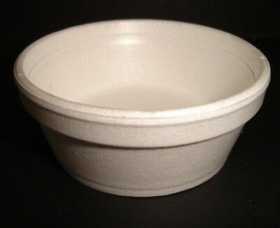 1000 x 2oz Foam / Polystyrene Container CATERING FAST FOOD TAKEAWAY FOODS(0801)