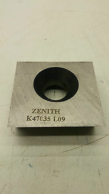 "(3) Sets of 6 Units Zenith 47035 L09 Cutter Grinder Blade Rotating 2.485""X2.138"""