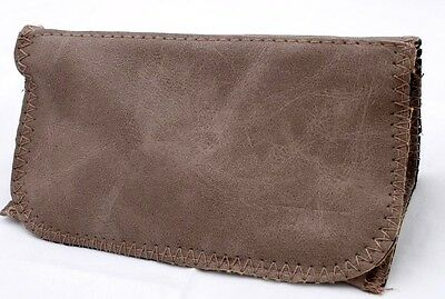 Pu Leather Wallet Purse Tobacco Case Pouch Bag Cigarette Ro Solid Grey Beautiful