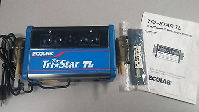 Ecolab Tri-Star TL Chemical Dispenser LM-320-TL 115v 60Hz 5Amps NEW